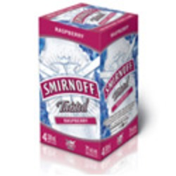 Smirnoff Twisted Raspberry Coolers