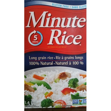 Minute Rice Enriched Pre-Cooked Long Grain Rice
