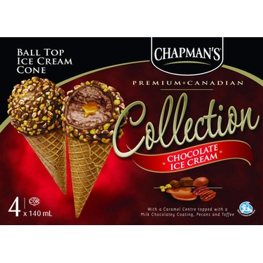 Chapman's Ball Top Ice Cream Cones