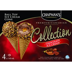Chapman's Ball Top Ice Cream Cones