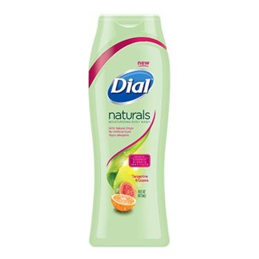 Dial Naturals Tangerine & Guava Moisturizing Body Wash