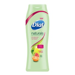 Dial Naturals Tangerine & Guava Moisturizing Body Wash