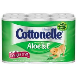 Cottonelle Aloe & E Bathroom Tissue