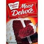 Duncan Hines Moist Deluxe Red Velvet Cake Mix