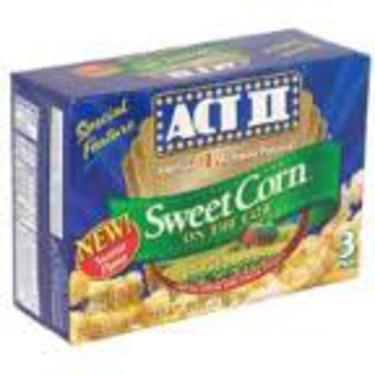 Act II Sweet Corn On The Cob Popcorn