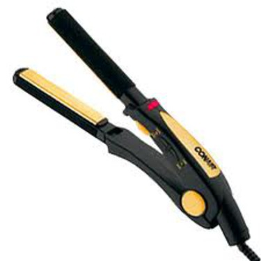 "Conair Satin Finish ¾"" Ultra-Slim Ceramic Straightener Flat Iron"