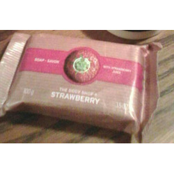 The Body Shop Strawberry Bar Soap