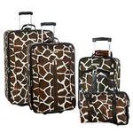 Bentley Giraffe Print Luggage