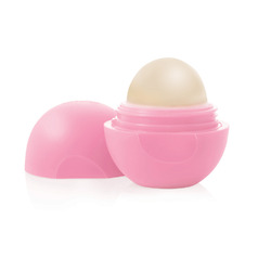 eos Organic Smooth Spheres Lip Balm in Strawberry Sorbet