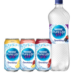 Nestlé Pure Life Sparkling Carbonated Natural Spring Water