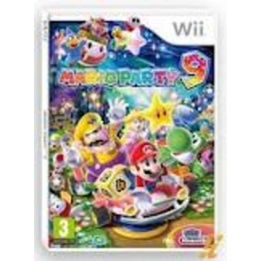 WII Game Mario Party 9