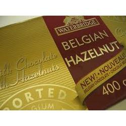 Waterbridge Belgian Hazelnut Milk Chocolate Bar