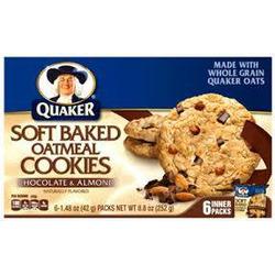 Quaker Soft Baked Cookies - Oatmeal & Raisin