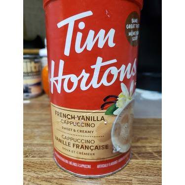 Tim Hortons French Vanilla Cappuccino Mix