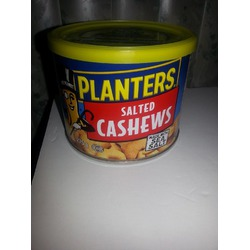 Planters Salted Cashews Made with Sea Salt