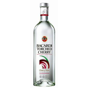 Bacardi rum torched cherry