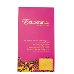 Exuberance The Power of Pink Satin-soft Body Wash with Sage & White Tea