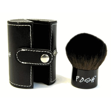 Posh Kabuki Brush (with Leatherette Case)
