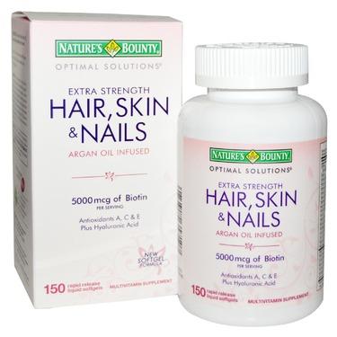 Nature's Bounty Hair, Skin, & Nails Tablets