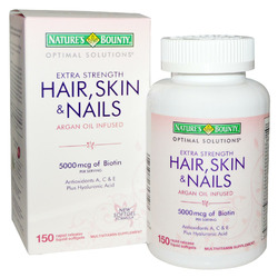 Nature's Bounty Hair, Skin, & Nails Tablets