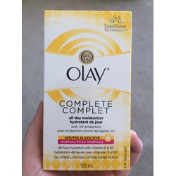 Olay Complete All Day Moisturizer SPF15 UV