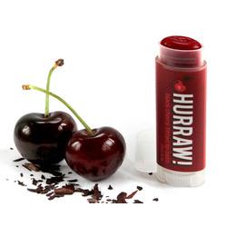 Hurraw Lip Balm - Black Cherry Tinted Lip Balm