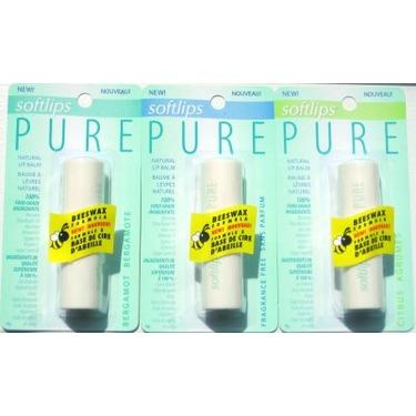 Softlips® PURE Natural Lip Balm - Fragrance Free