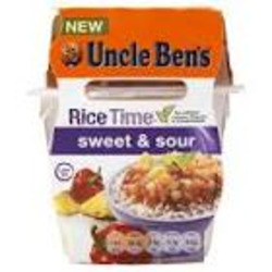 Uncle Ben's Rice and Sauce Sweet and Sour