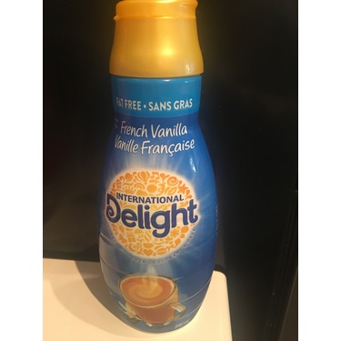 International Delight Fat Free French Vanilla Coffee Creamer