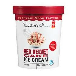 Presidents Choice Red Velvet Cake Ice Cream