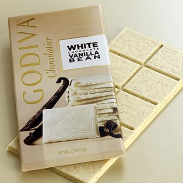 Godiva White Chocolate Vanilla Bean Bar