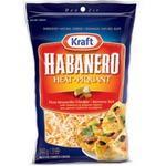 Kraft Habanero Heat Shredded Cheese