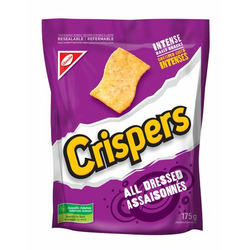 Crispers All Dressed Baked Snacks