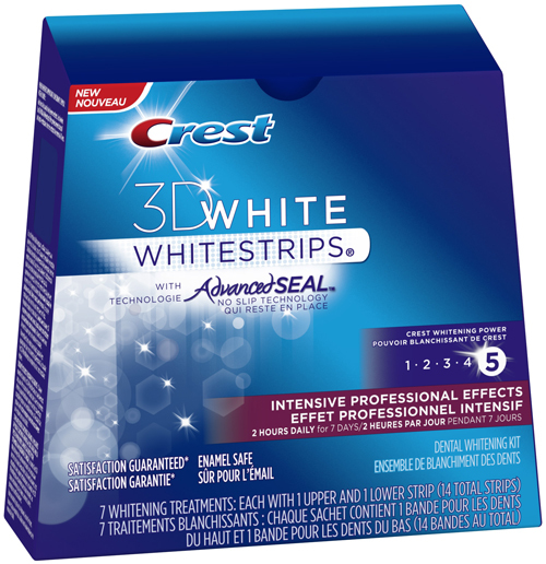 Instructions for crest whitestrips tits