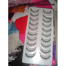 Model 21 False Eyelashes No. 2T