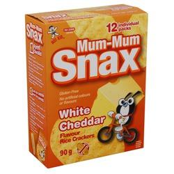 Mum-Mum White Cheddar Rice Crackers