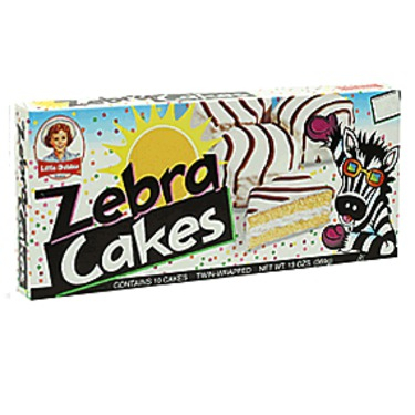 Lil Debbie Zebra Cakes