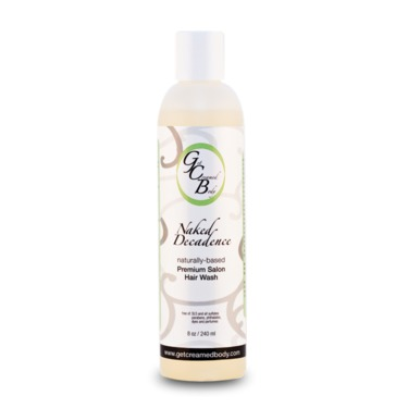 Get Creamed Body Naked Decadence Salon Hair Wash