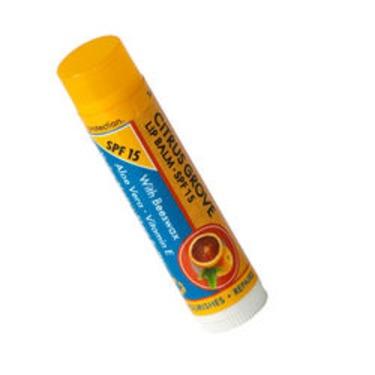 Beyond Coastal Citrus Grove Active Lip Balm SPF 15