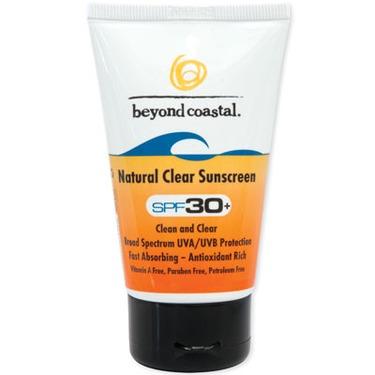 Beyond Coastal Natural Clear Sunscreen SPF 30