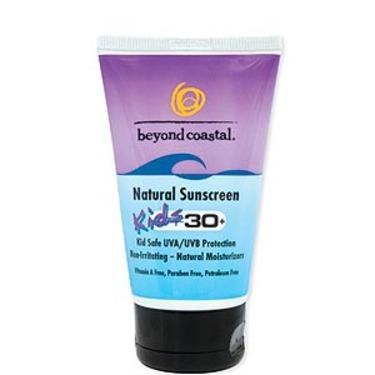 Beyond Coastal Kids Natural Sunscreen SPF 30