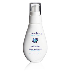 Live Clean Fresh Face Glowing Daily Serum