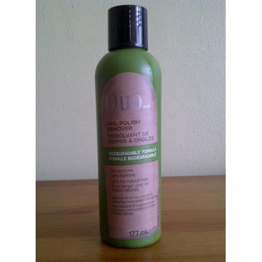 QUO Biodegradable Nail Polish Remover