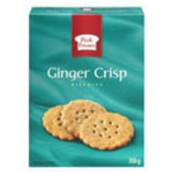 Peek Frean Ginger Cookies