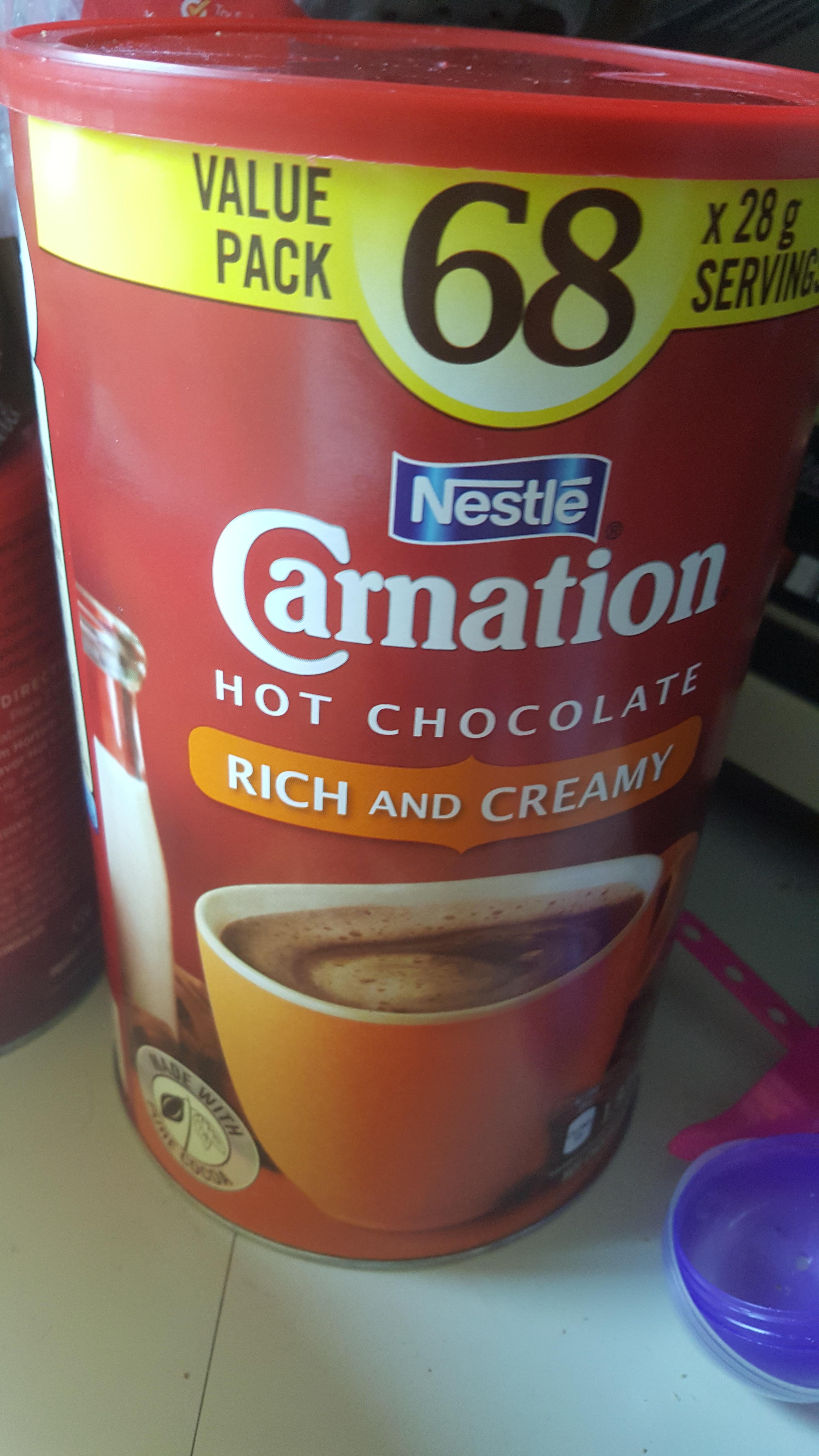 Nestle Carnation Hot Chocolate reviews in Hot Chocolate - ChickAdvisor
