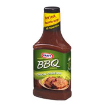 Kraft Onion Barbecue Sauce