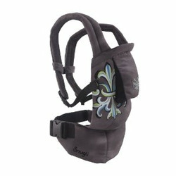 Seated Snugli Soft Baby Carrier