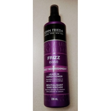 John Frieda Frizz-Ease Daily Nourishment Leave in Conditioning Spray