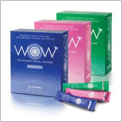 Wow Oral Rinse Powder