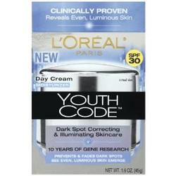 Youth Code Dark Spot Correcting, Illuminating Day Cream, SPF 30